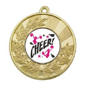 Cheerleading Medal TLM-M154G-C121 - Trophy Land