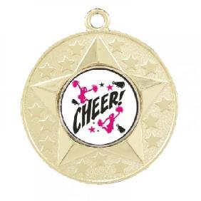 Cheerleading Medal TLM-M156G-C121 - Trophy Land