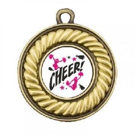 Cheerleading Medal TLM-M159G-C121 - Trophy Land