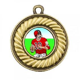 Gridiron Medal TLM-M159G-K8 - Trophy Land