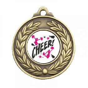 Cheerleading Medal TLM-M160G-C121 - Trophy Land