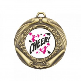 Cheerleading Medal TLM-M172G-C121 - Trophy Land
