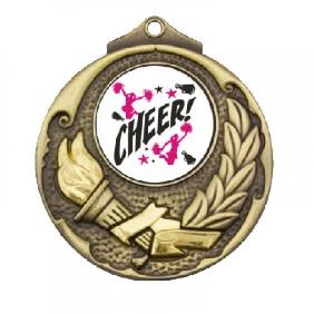 Cheerleading Medal TLM-M411G-C121 - Trophy Land