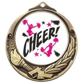Cheerleading Medal TLM-M412G-C121 - Trophy Land