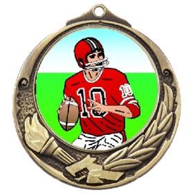 Gridiron Medal TLM-M412G-K8 - Trophy Land