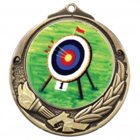 Archery Medal TLM-M412G-K9 - Trophy Land