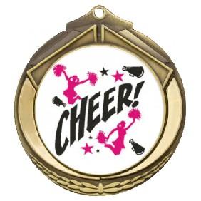 Cheerleading Medal TLM-M432G-C121 - Trophy Land