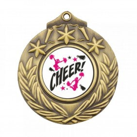Cheerleading Medal TLM-M841G-C121 - Trophy Land