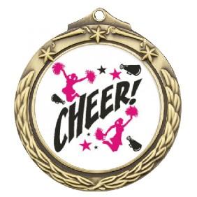 Cheerleading Medal TLM-M842G-C121 - Trophy Land