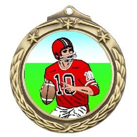 Gridiron Medal TLM-M842G-K8 - Trophy Land