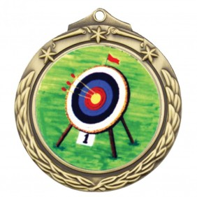Archery Medal TLM-M842G-K9 - Trophy Land