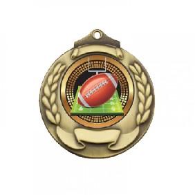 Gridiron Medal TLM-M861G-B55 - Trophy Land