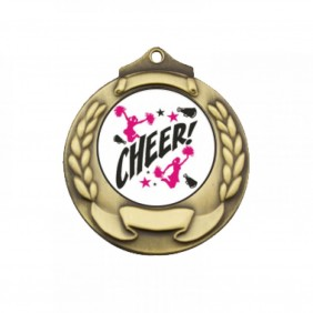 Cheerleading Medal TLM-M861G-C121 - Trophy Land