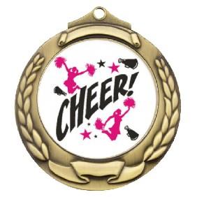 Cheerleading Medal TLM-M862G-C121 - Trophy Land