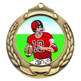 Gridiron Medal TLM-M862G-K8 - Trophy Land