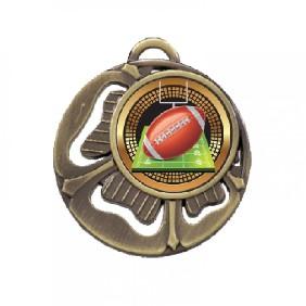 Gridiron Medal TLM-MD464G-B55 - Trophy Land