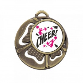 Cheerleading Medal TLM-MD464G-C121 - Trophy Land