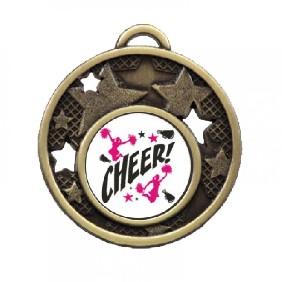 Cheerleading Medal TLM-MD466G-C121 - Trophy Land