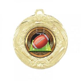 Gridiron Medal TLM-MD70G-B55 - Trophy Land