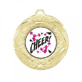 Cheerleading Medal TLM-MD70G-C121 - Trophy Land