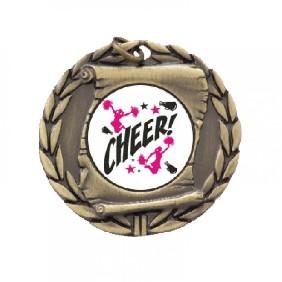 Cheerleading Medal TLM-MD95G-C121 - Trophy Land