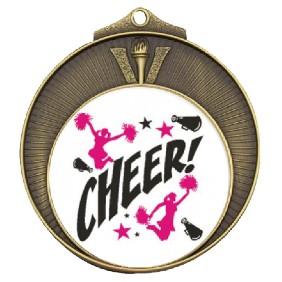Cheerleading Medal TLM-MD970G-C121 - Trophy Land