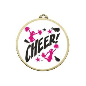 Cheerleading Medal TLM-ME250G-C121 - Trophy Land