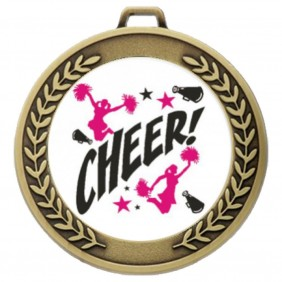Cheerleading Medal TLM-MJ50G-C121 - Trophy Land