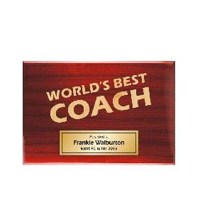 Coach Gifts TLPLQ-Coach1 - Trophy Land