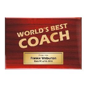 Coach Gifts TLPLQ-Coach2 - Trophy Land