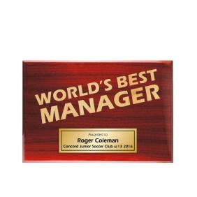 Coach Gifts TLPLQ-Manager1 - Trophy Land