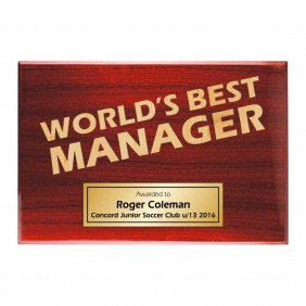 Coach Gifts TLPLQ-Manager2 - Trophy Land