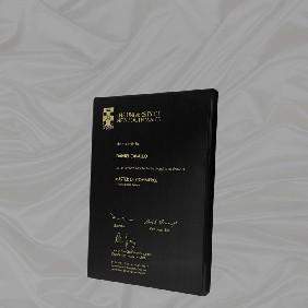 Appreciation Plaques TLPLQ12-BG2 - Trophy Land