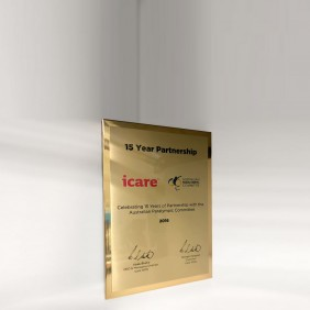 Appreciation Plaques TLPLQ14-GA5 - Trophy Land
