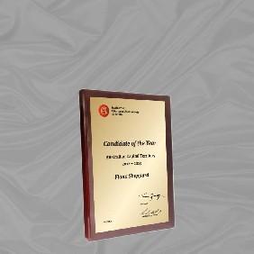 Appreciation Plaques TLPLQ5-WG3 - Trophy Land