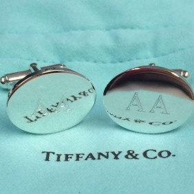 Engraving Gallery Tiffany Cufflinks - Trophy Land