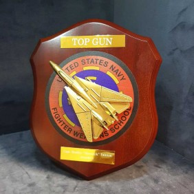 Custom Awards Gallery Top Gun Plaque - Trophy Land