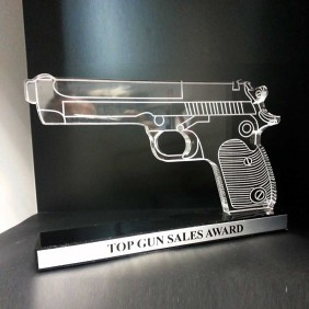 Custom Awards Gallery Top Gun Sales Award (Custom) - Trophy Land