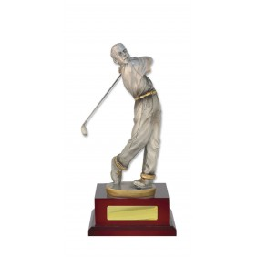 Golf Trophy W18-4208 - Trophy Land