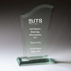 Glass Award W763L - Trophy Land