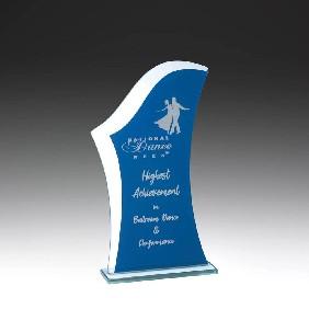 Glass Award W812B - Trophy Land