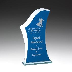 Glass Award W812C - Trophy Land