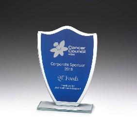 Glass Award W853 - Trophy Land