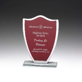 Glass Award W856 - Trophy Land
