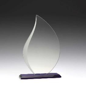 Glass Award W935B - Trophy Land