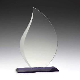 Glass Award W935C - Trophy Land