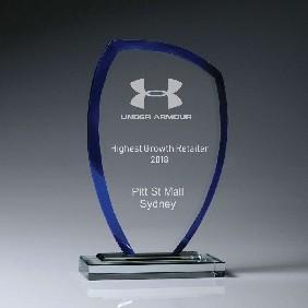 Glass Award W943B - Trophy Land