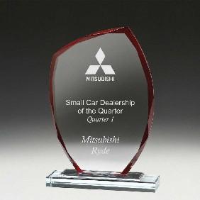 Glass Award W946B - Trophy Land