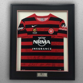 Framing Gallery Wanderers Jersey - Trophy Land