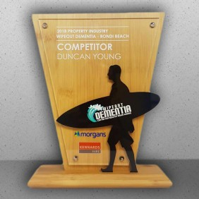Custom Awards Gallery Wipeout Dementia Trophy - Trophy Land